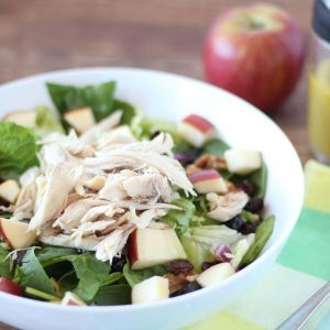 (gluten-free, paleo) Apple chicken salad