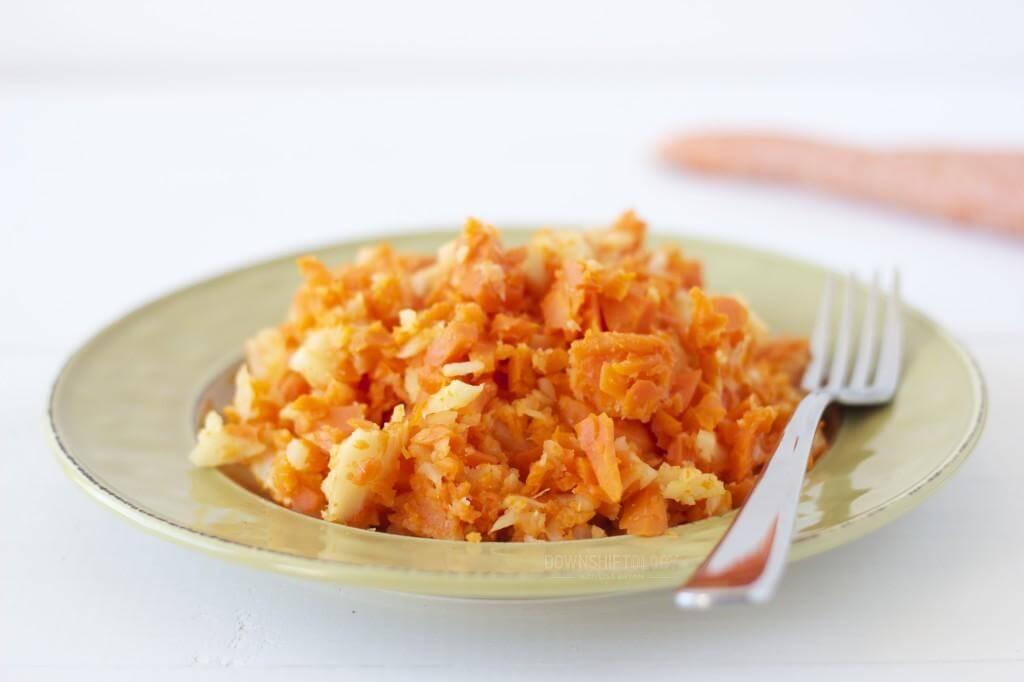 Carrot Parsnip Mash | www.downshiftology.com