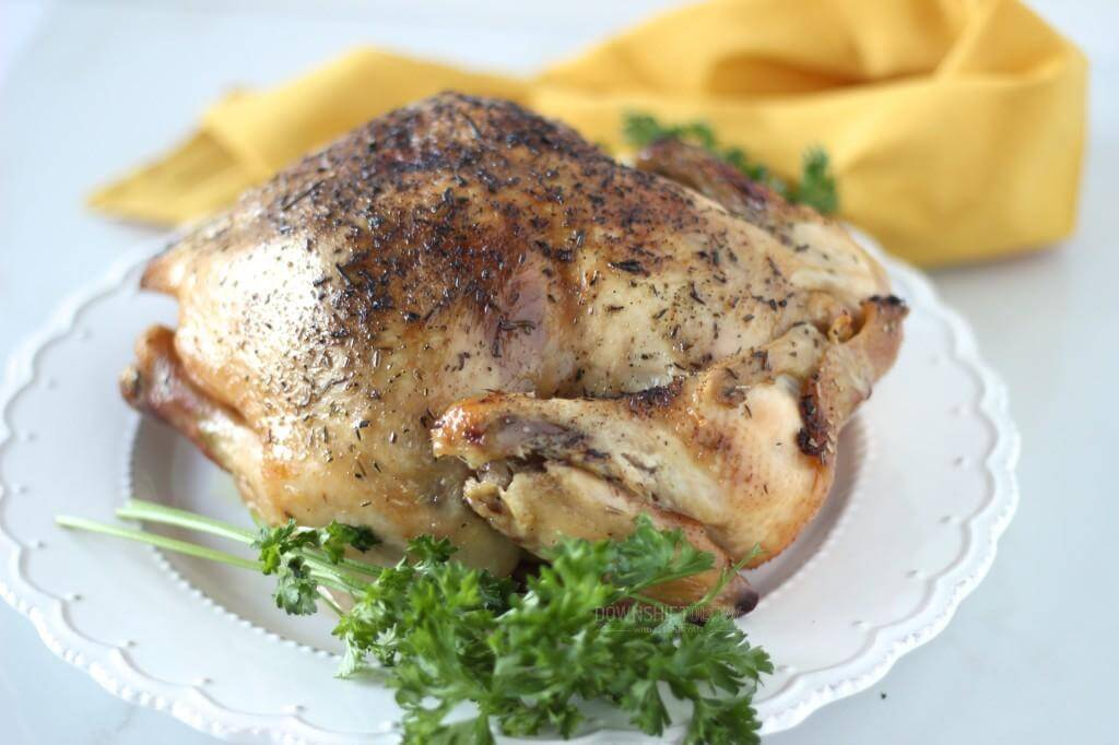Slow-Cooker Rotisserie Chicken | www.downshiftology.com