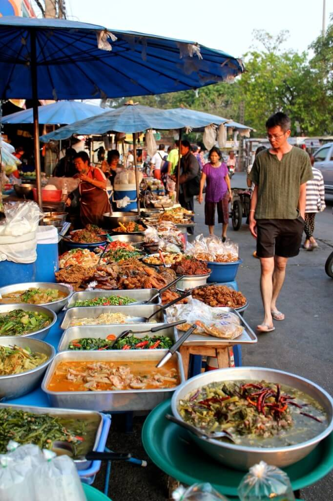 Thailand street food chiang mai