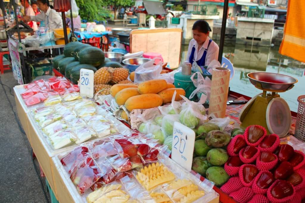 Thailand street food fruit