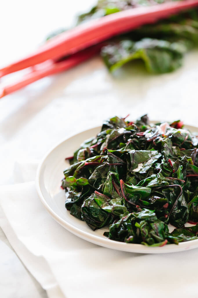 Garlic Sautéed Swiss Chard