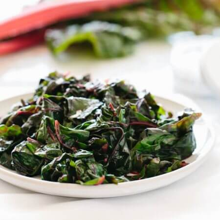 garlic sauteed swiss chard