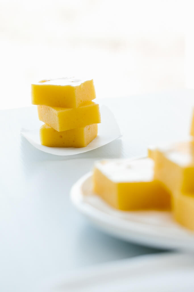 orange mango gelatin gummies