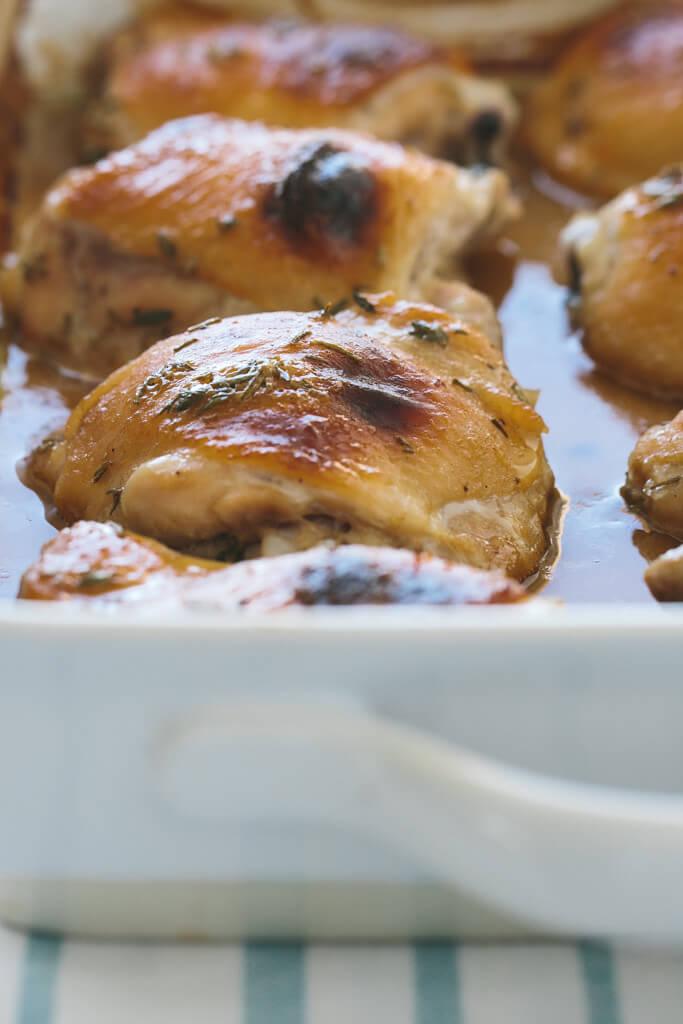 herbed honey mustard chicken