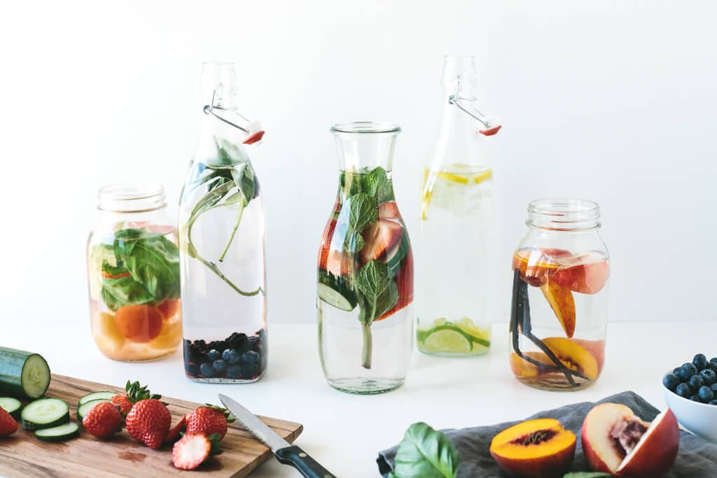 How to make infused water 15 vibrant flavor combinations for How to make flavored martinis