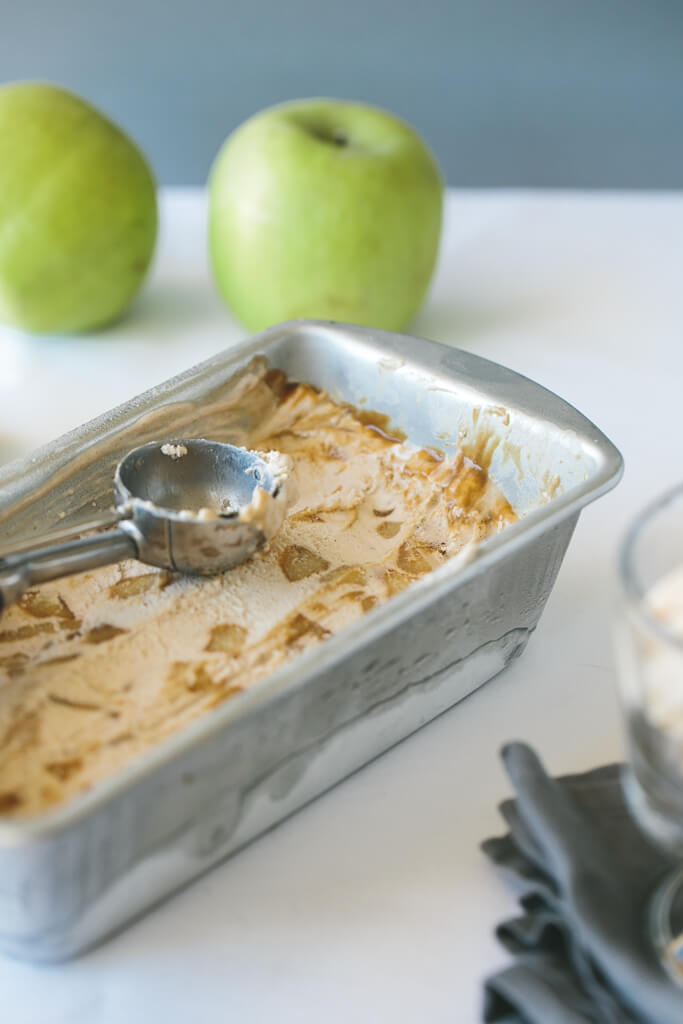 salted caramel apple pie ice cream