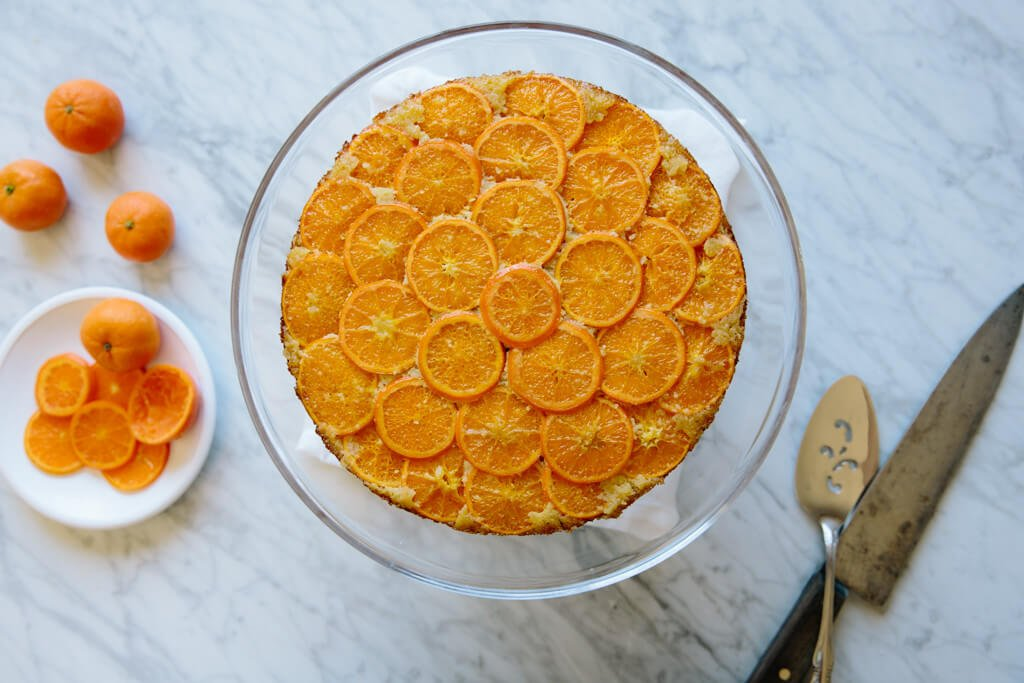 clementine upside down cake-3