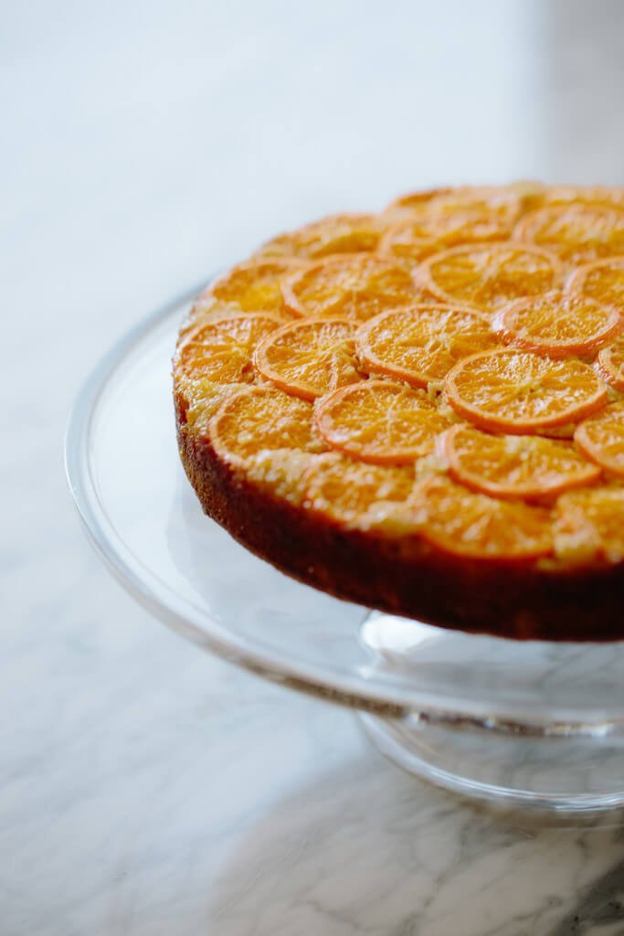 Clementine Upside Down Cake Recipe