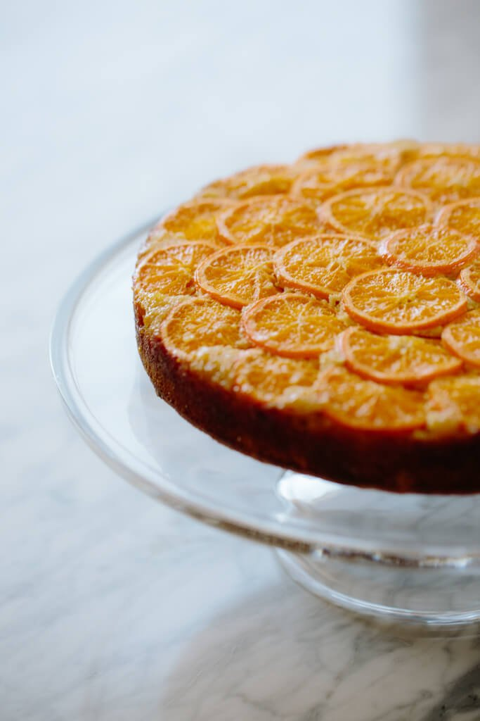 Clementine Upside Down Cake 8