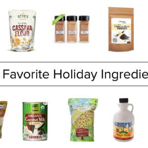 my favorite holiday ingredients
