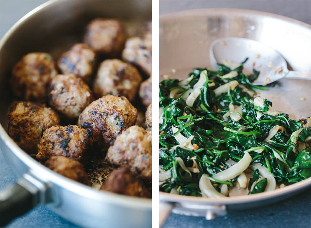 The most delicious pork and fennel meatballs! Perfect for an appetizer or main meal. Gluten-free and paleo.