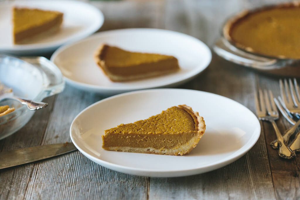 The most delicious gluten-free, grain-free, dairy-free pumpkin pie. With a perfectly golden, flaky crust!