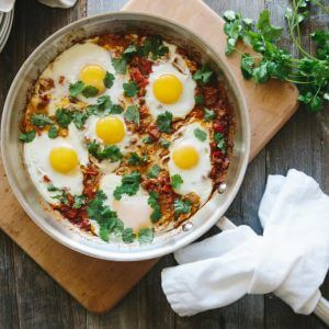 A traditional shakshuka recipe that's naturally grain-free and paleo-friendly.