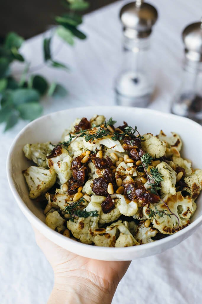 ... cauliflower roasted cauliflower salad za atar roasted cauliflower