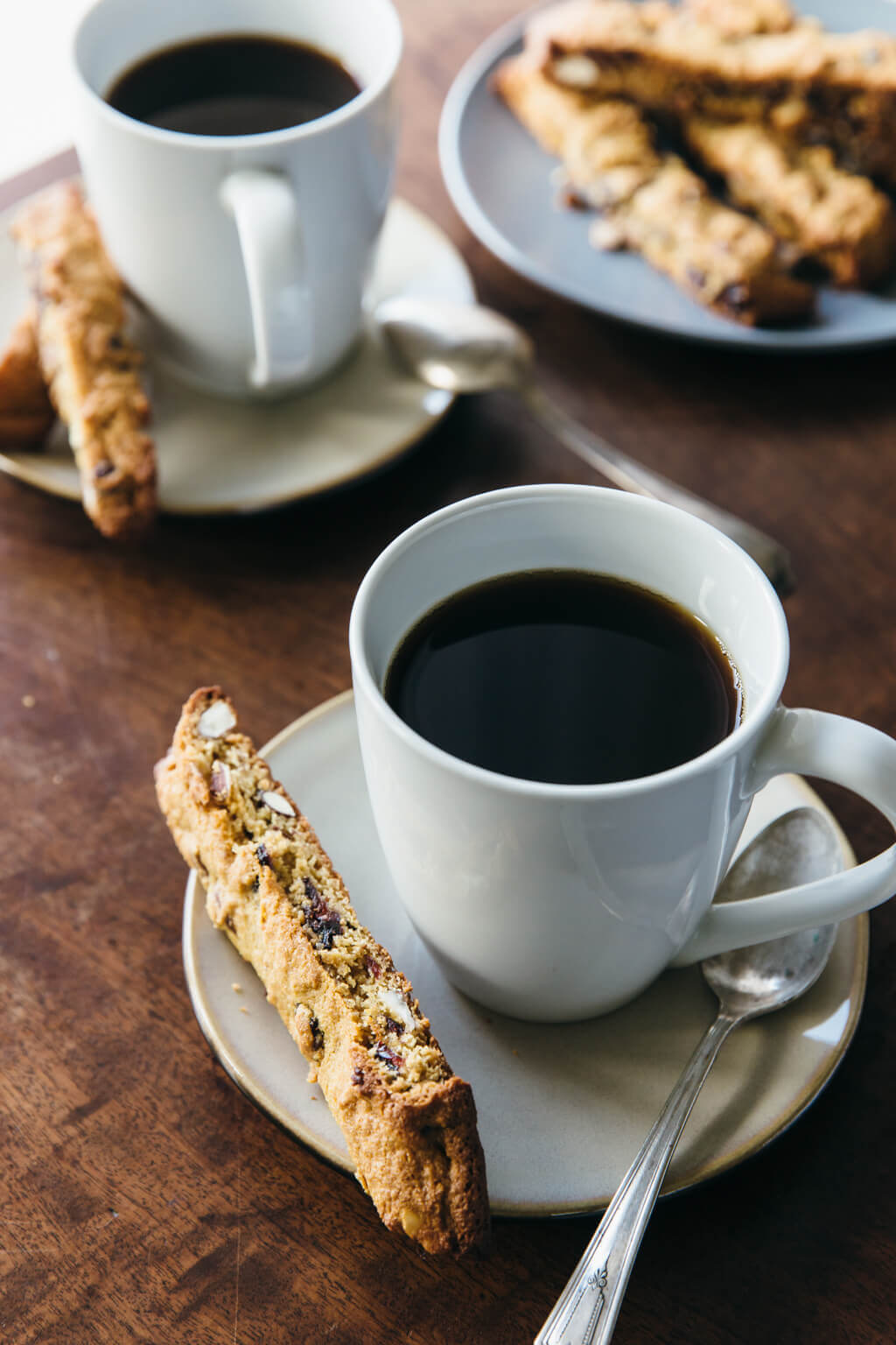 Cranberry almond biscotti. Gluten-free, grain-free and paleo.