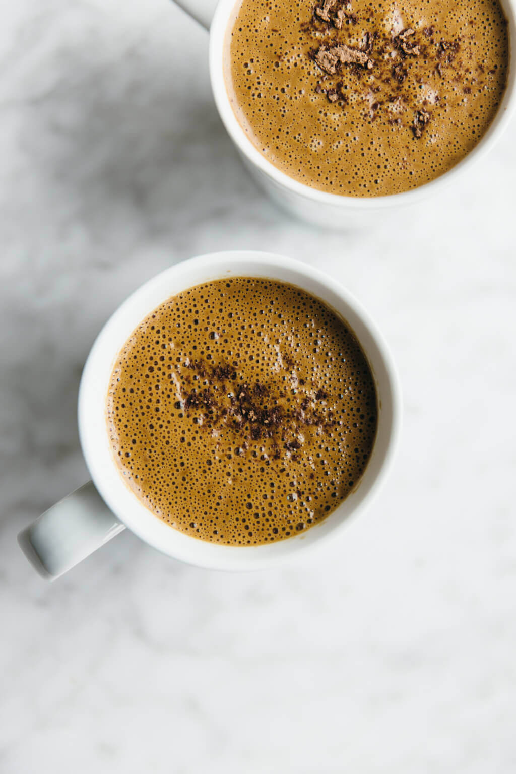 Sexy superfood hot chocolate. Dairy-free.