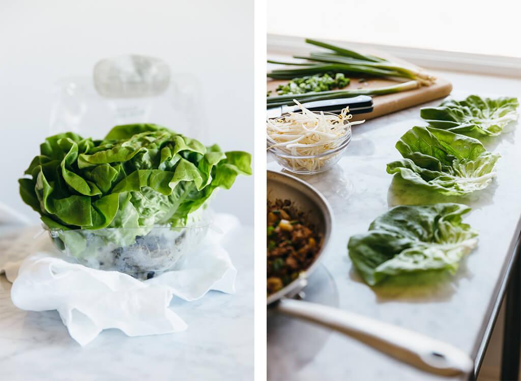 paleo thai chicken lettuce wrap recipe