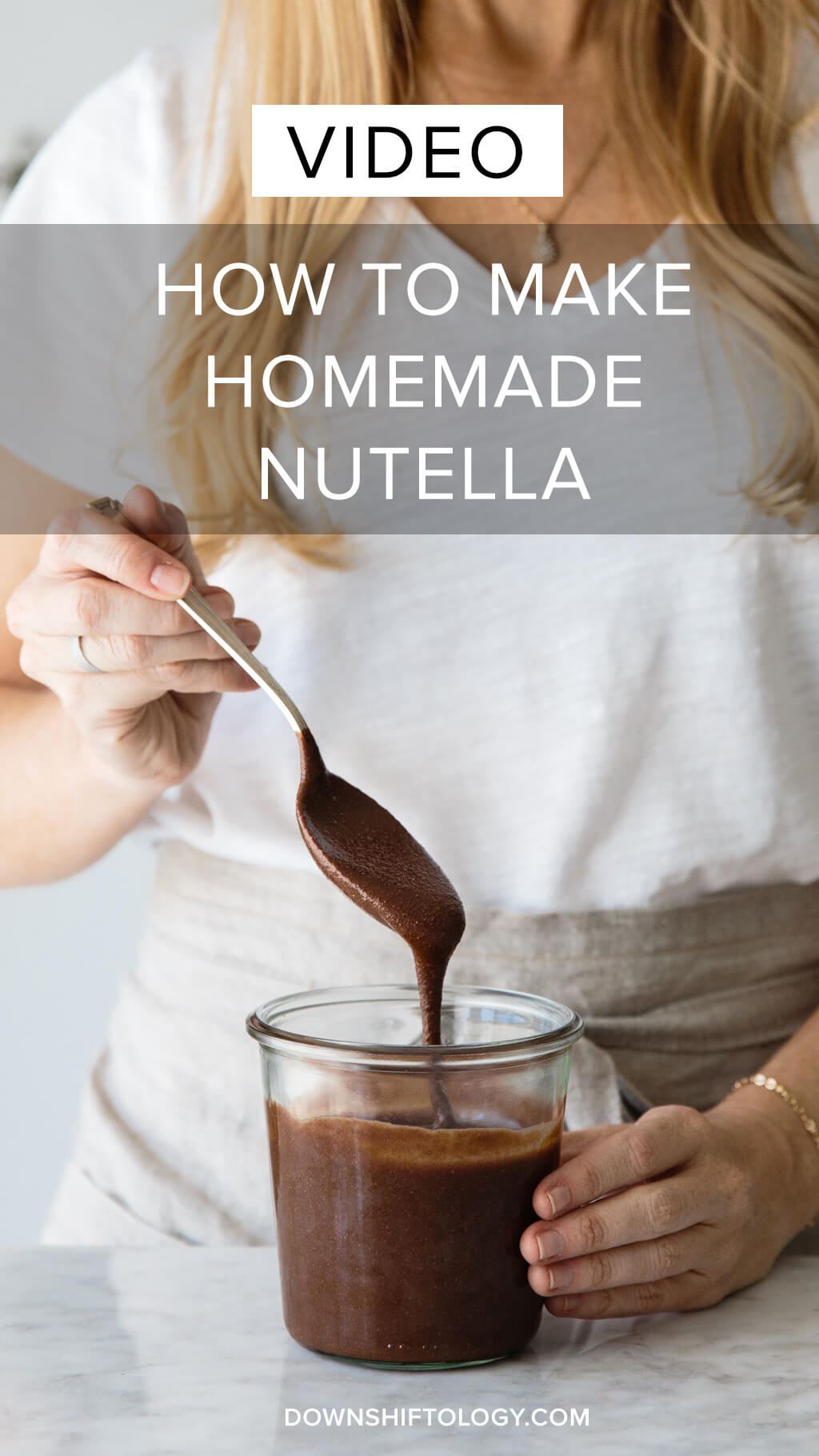 dairy-free, vegan, paleo) How to make homemade nutella. A delicious ...