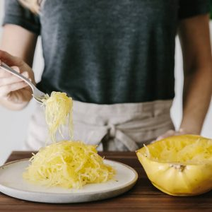 How to Cook Spaghetti Squash. A quick, step-by-step video tutorial to cook this naturally gluten-free, paleo-friendly vegetable (and pasta alternative).