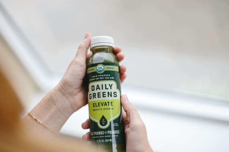 Getting your daily greens // green juice review