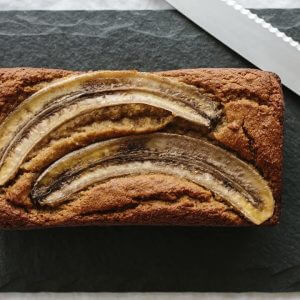 (gluten-free, paleo) This super moist, healthy banana bread recipe is delicious and easy to make as it only takes one bowl! It's also gluten-free, grain-free, dairy-free and paleo. Watch the video for step-by-step instructions.