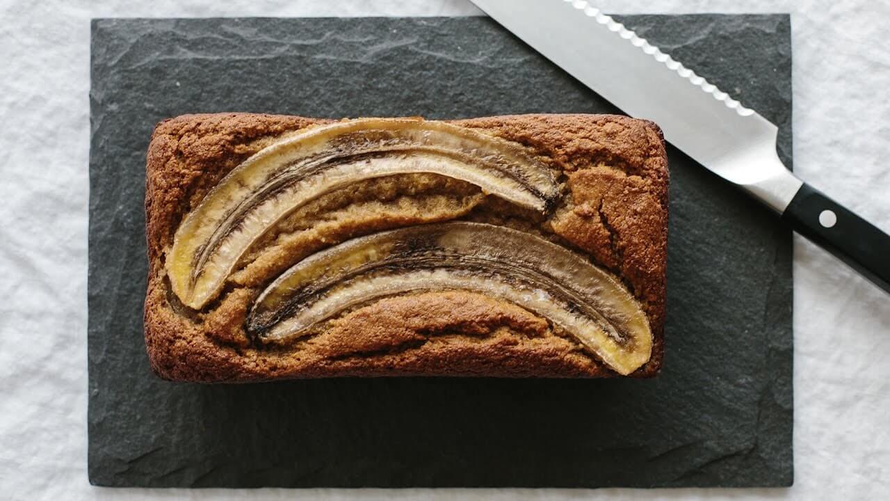 Super Moist Paleo Banana Bread