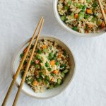 (gluten-free, paleo) Cauliflower fried rice is a healthier alternative to the much loved Chinese favorite.
