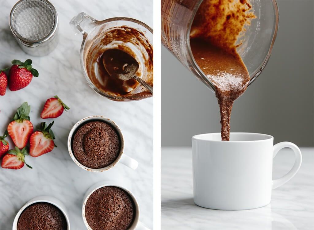 Paleo Chocolate Coffee Mug Cake