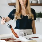 Cooking bacon in the oven is super easy, creates less mess and allows you to multi-task in the kitchen.