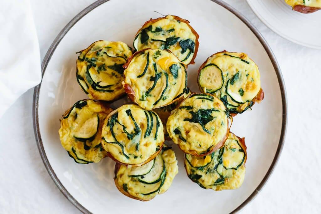 Zucchini Prosciutto Egg Muffins (Paleo, Keto, Whole30)
