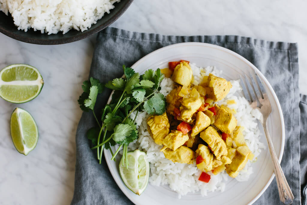 Coconut Curry Chicken Downshiftology