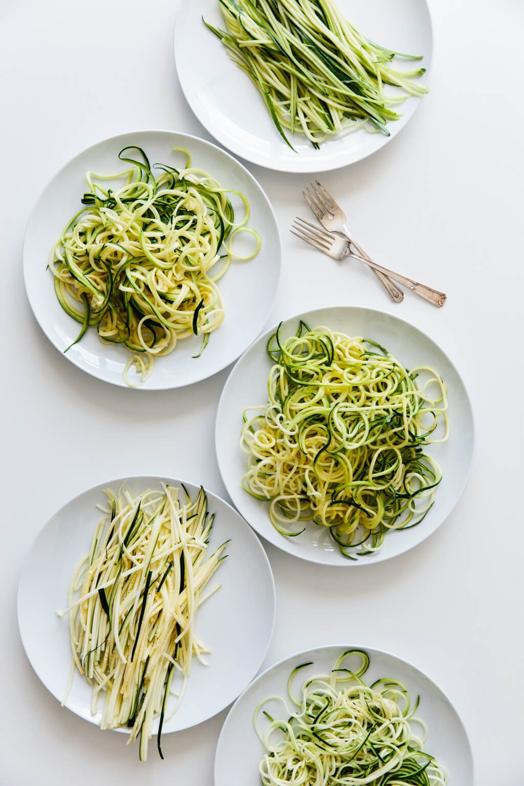How to make and cook zucchini noodles (zoodles).