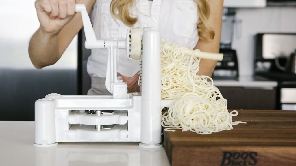 The spiralizer is one of my favorite kitchen tools. So today I'm sharing my favorite vegetables to spiralize along with veggie spiralizer tips and recipes. Learn how to spiralize parsnip.