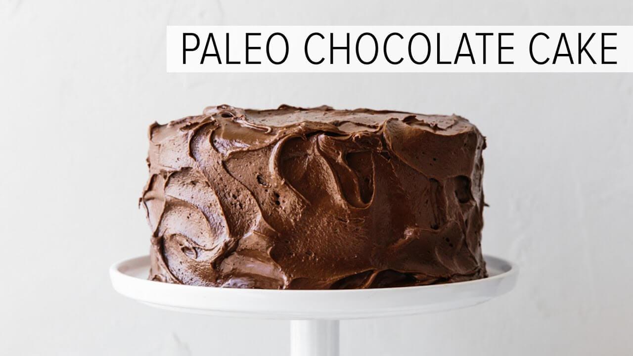 Amazing Paleo Chocolate Cake (gluten-free, dairy-free ...