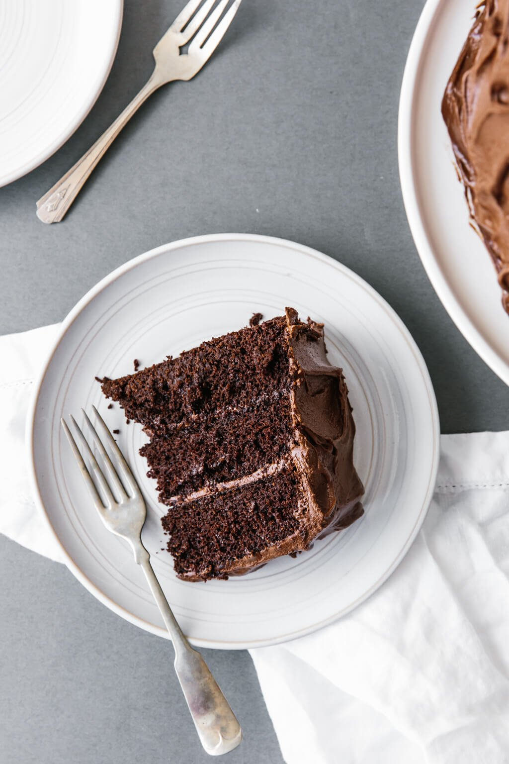 Amazing Paleo Chocolate Cake gluten free dairy free Downshiftology
