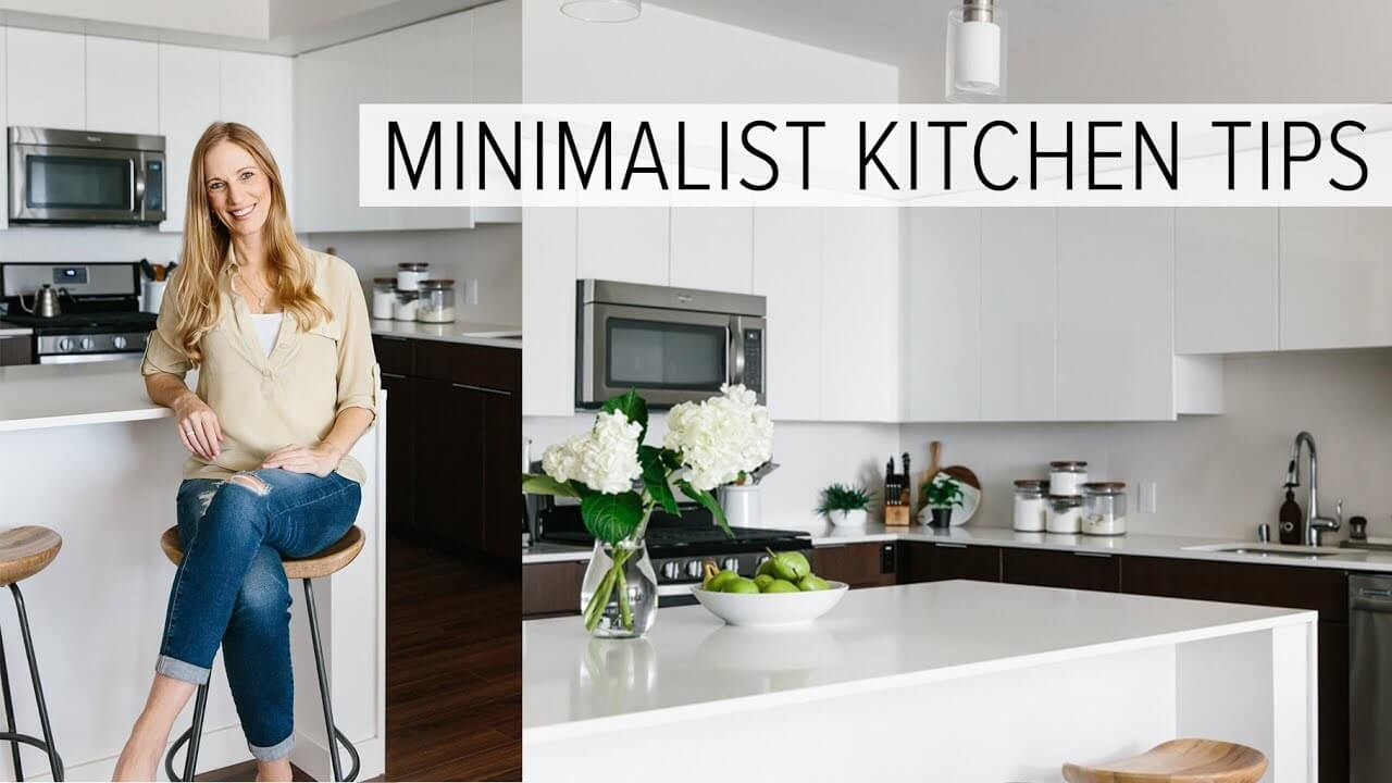 Creating a minimalist kitchen tips to clean declutter and simplify downshiftology
