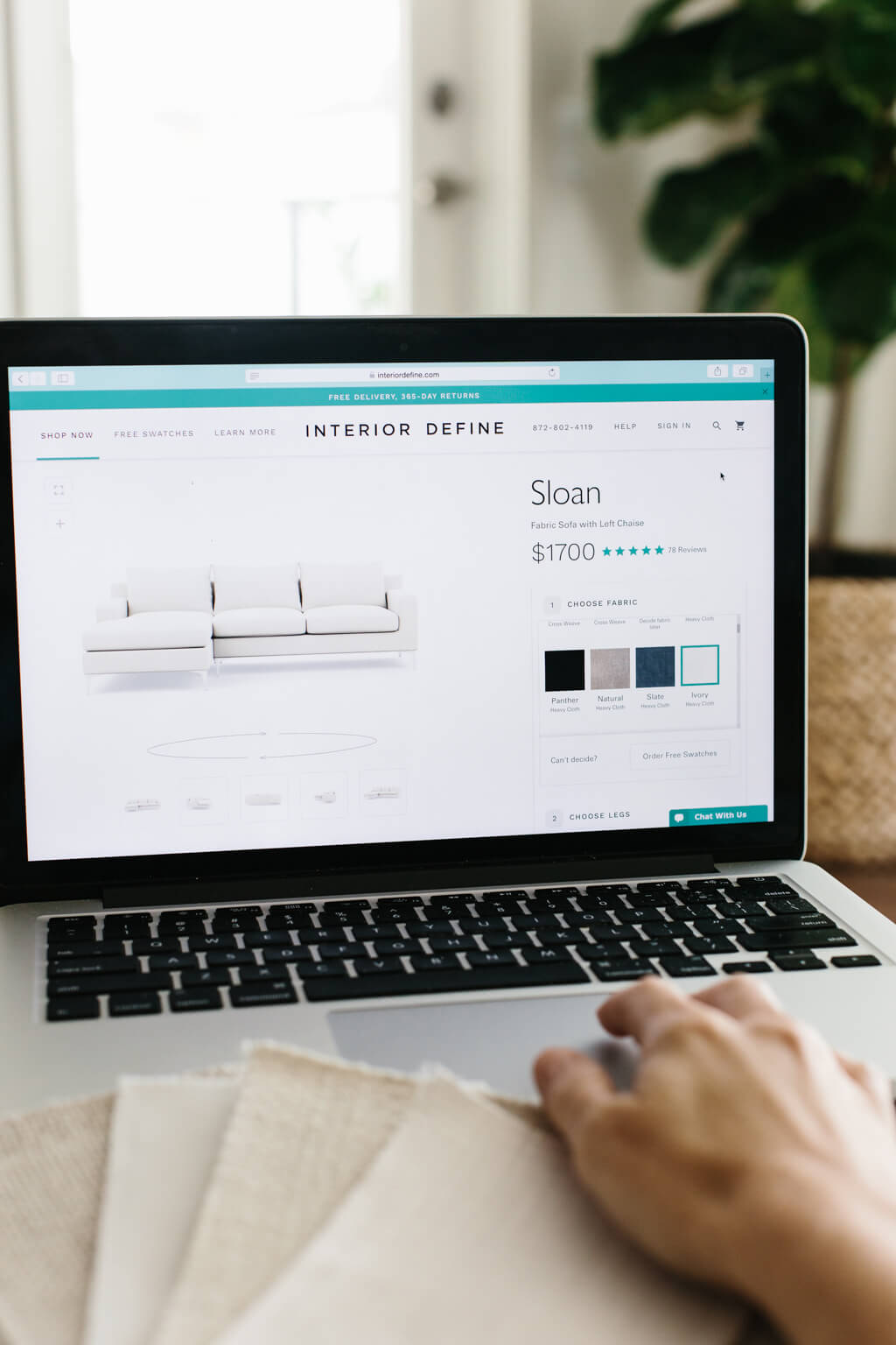 Buying a sofa online with Interior Define // My experience with Interior Define.