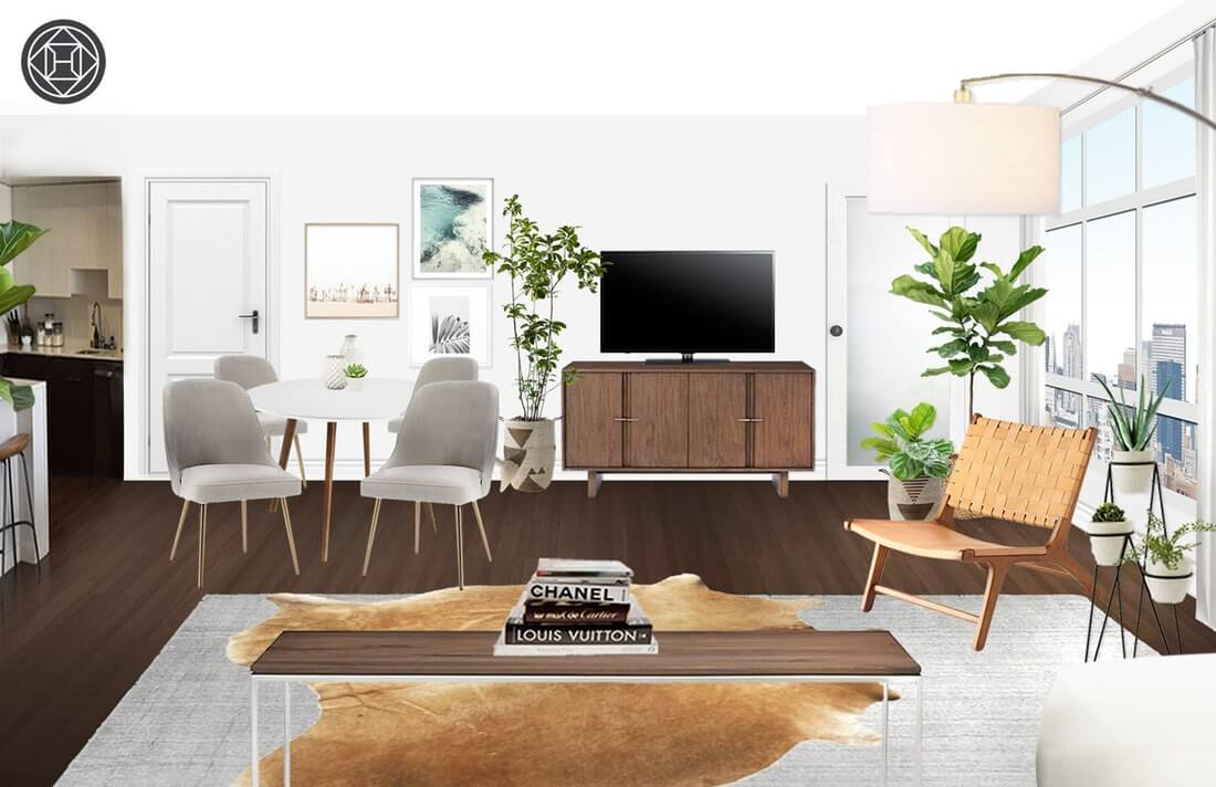 Take A Tour Of My Modern And Minimalist Living Room. My Interior Design  Style Is