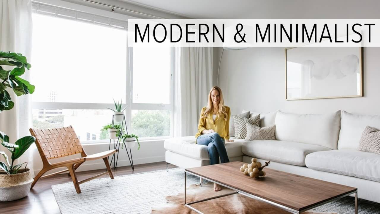 Modern Minimalist Decor With A Homey Flow: Designing My Modern And Minimalist Living Room With