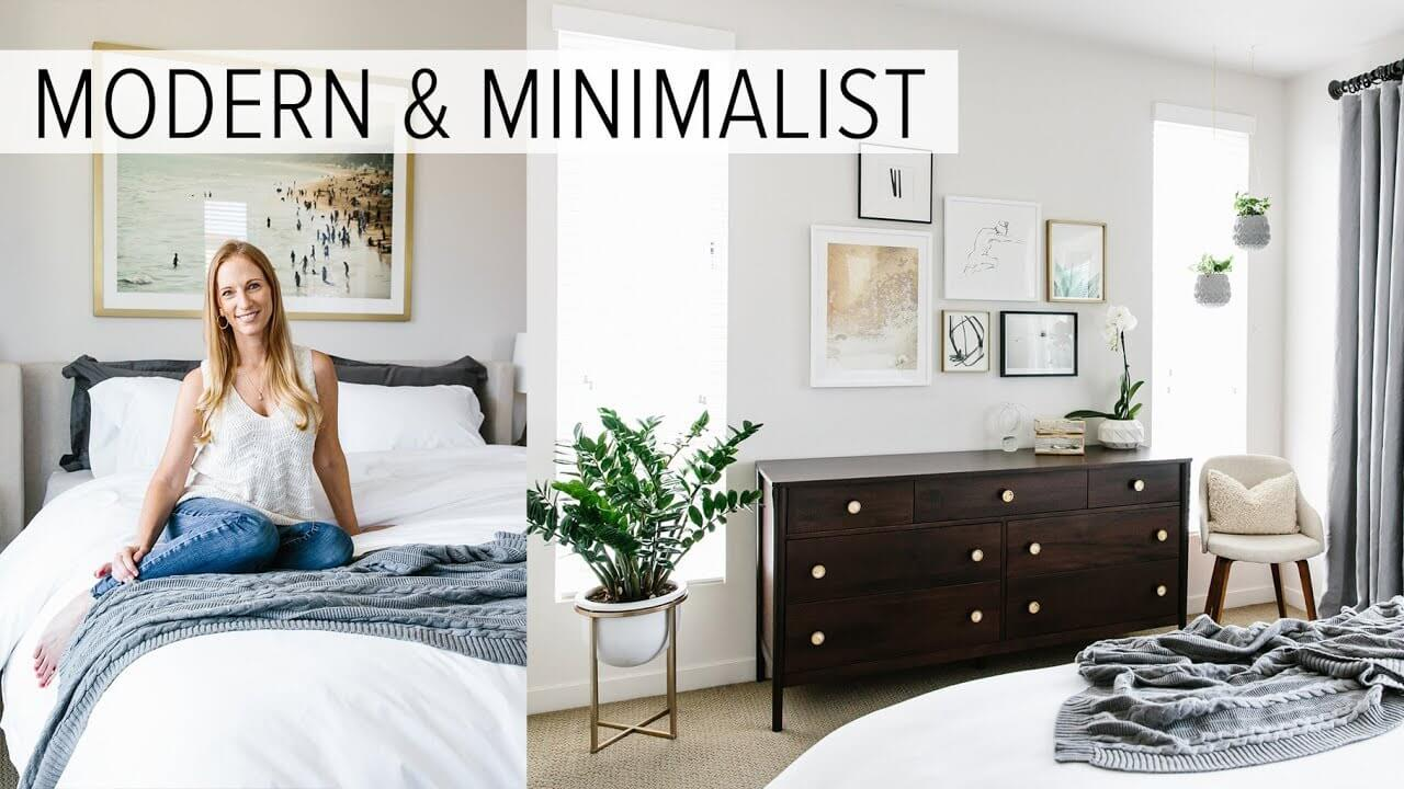 My Modern and Minimalist Bedroom Design with Havenly