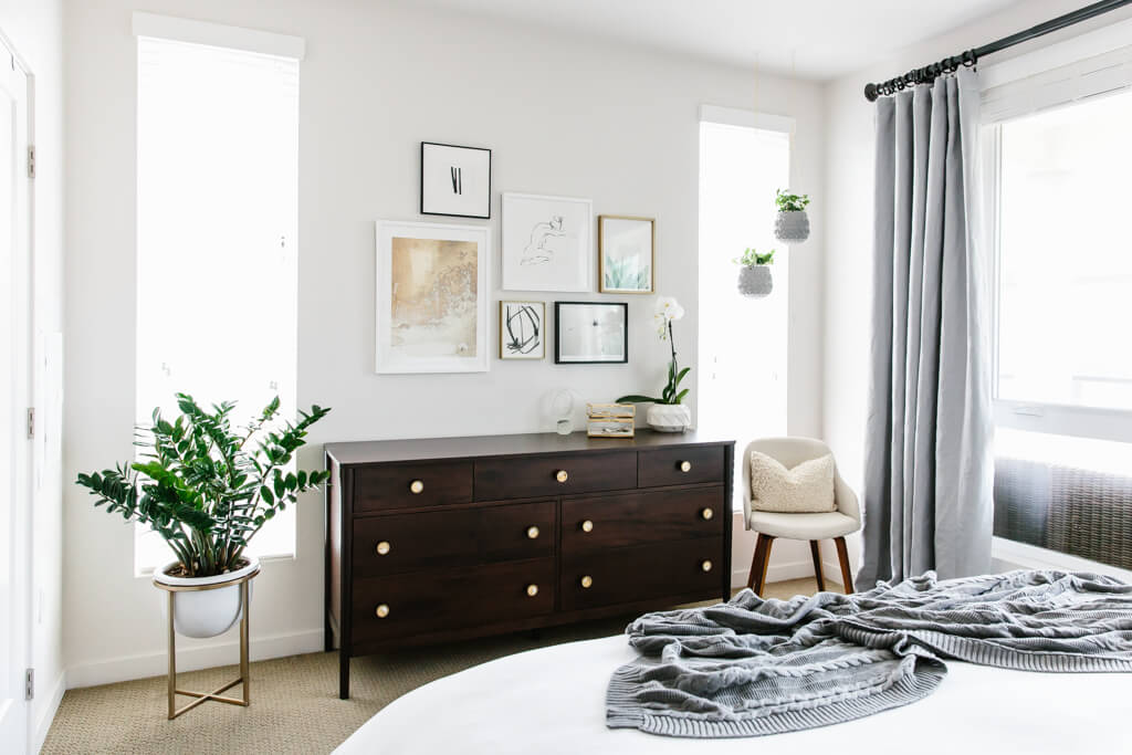 Modern Minimalist Bedroom Design: My Modern And Minimalist Bedroom Design With Havenly