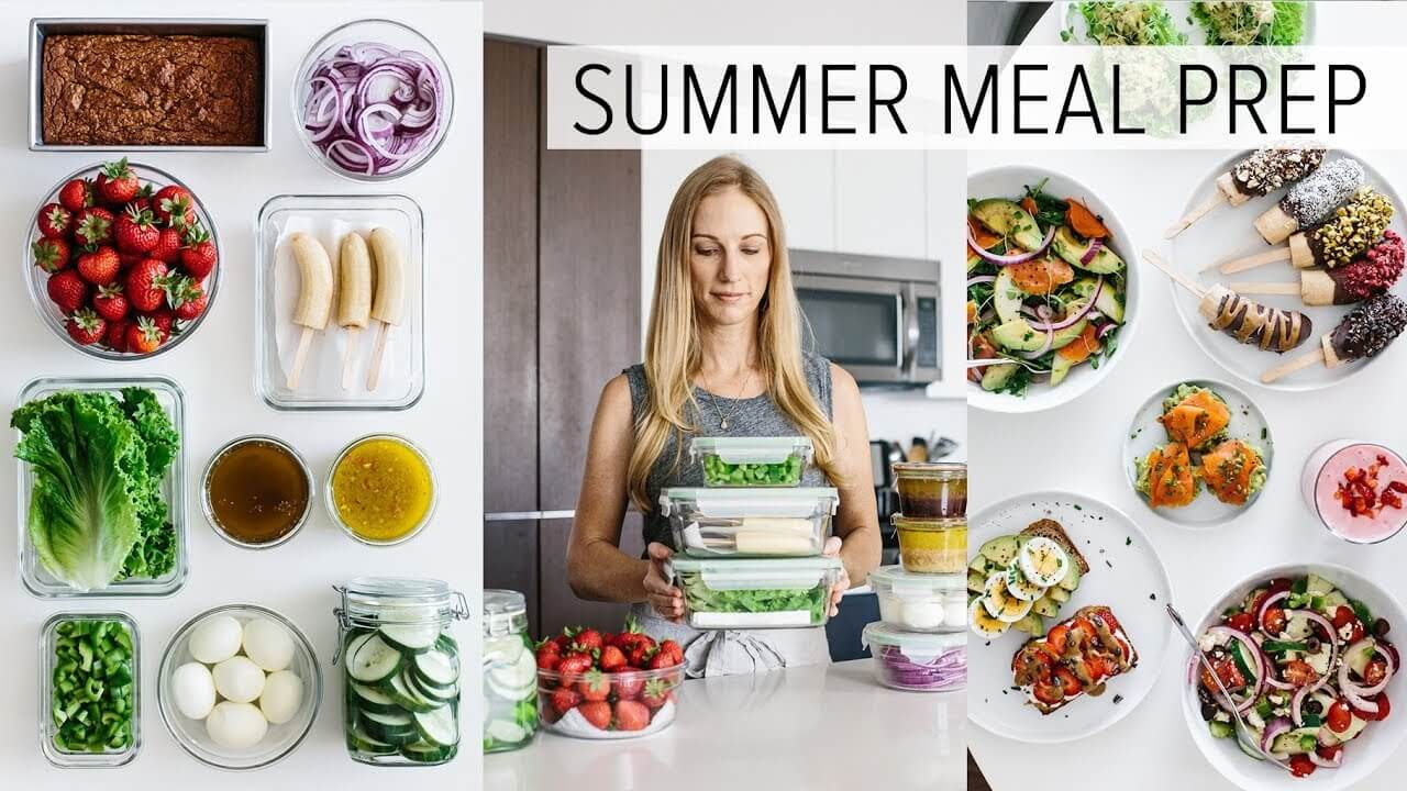 Meal Prep for Summer: Light and Fresh Meal Prep Recipes