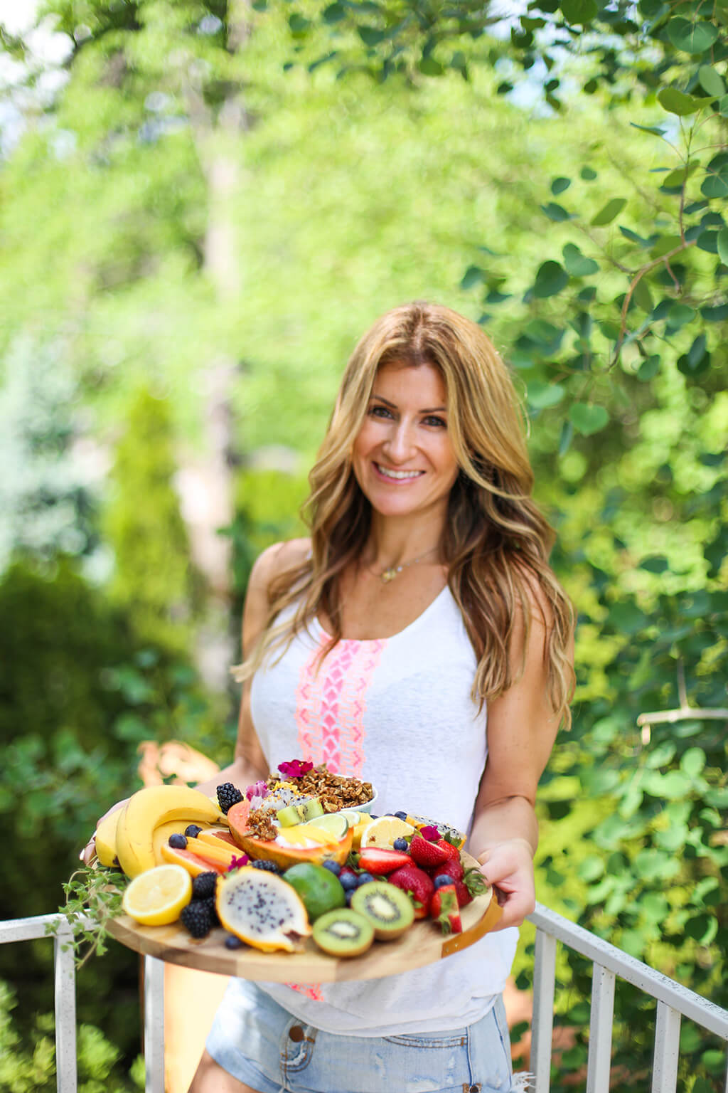 Elizabeth Stein from Purely Elizabeth. Inspired health coach.