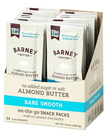 Whole30 Snacks: Barney Butter