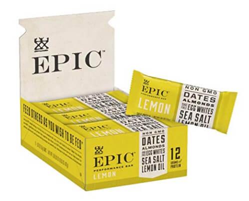 Best Whole30 Snacks: Epic Performance Lemon Bar