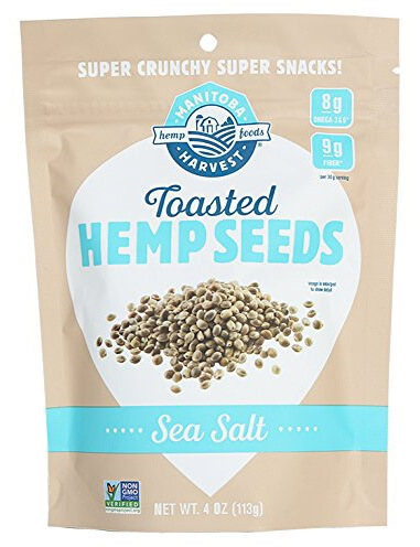 Whole30 Snacks: Manitoba Harvest Hemp Seeds