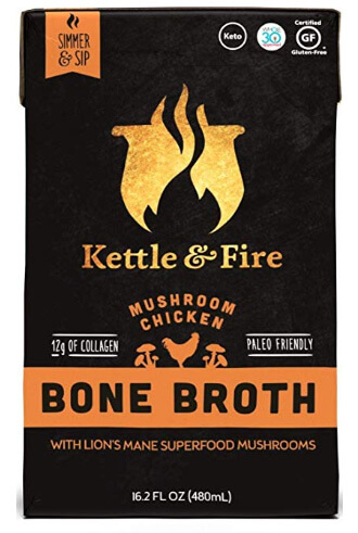 Whole30 Snacks: Kettle and Fire Bone Broth