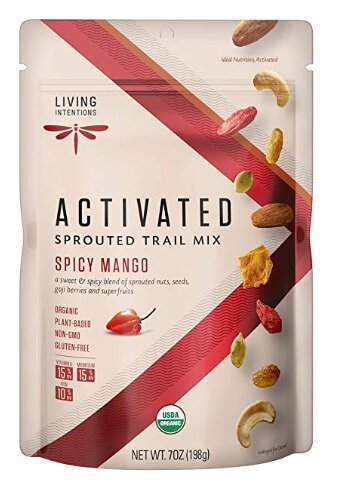 Whole30 Snacks: Living Intentions Spicy Mango Trail Mix
