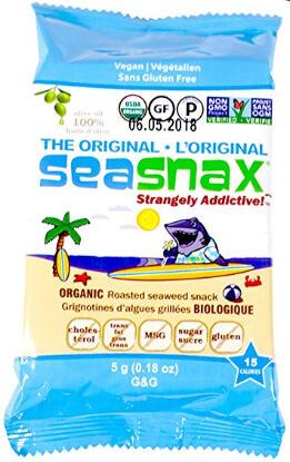 Whole30 Snacks on Amazon: SeaSnax